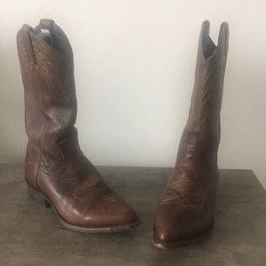 Frye cowboy boots, size 7.5